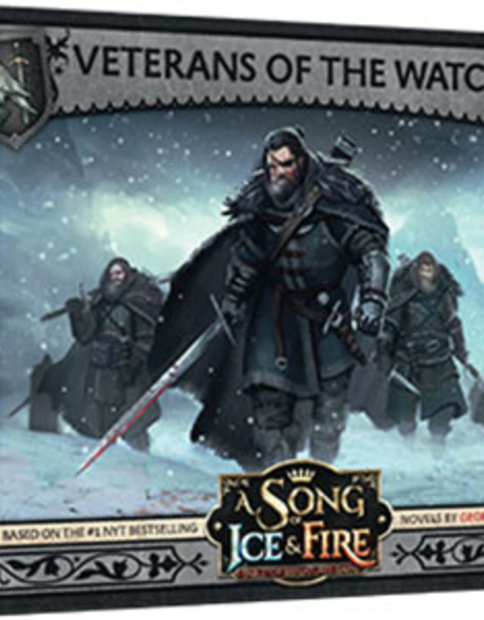 A Song of Ice & Fire: Tabletop Miniatures Game: Night's Watch Veterans of the Watch Unit Box