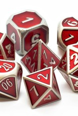 Old School Dice & Accesories Elven Forged: Metallic Red