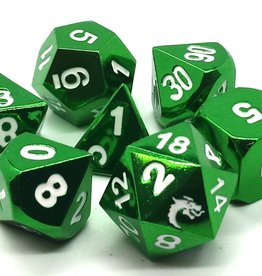Old School Dice & Accesories Halfing Forged Electric Green