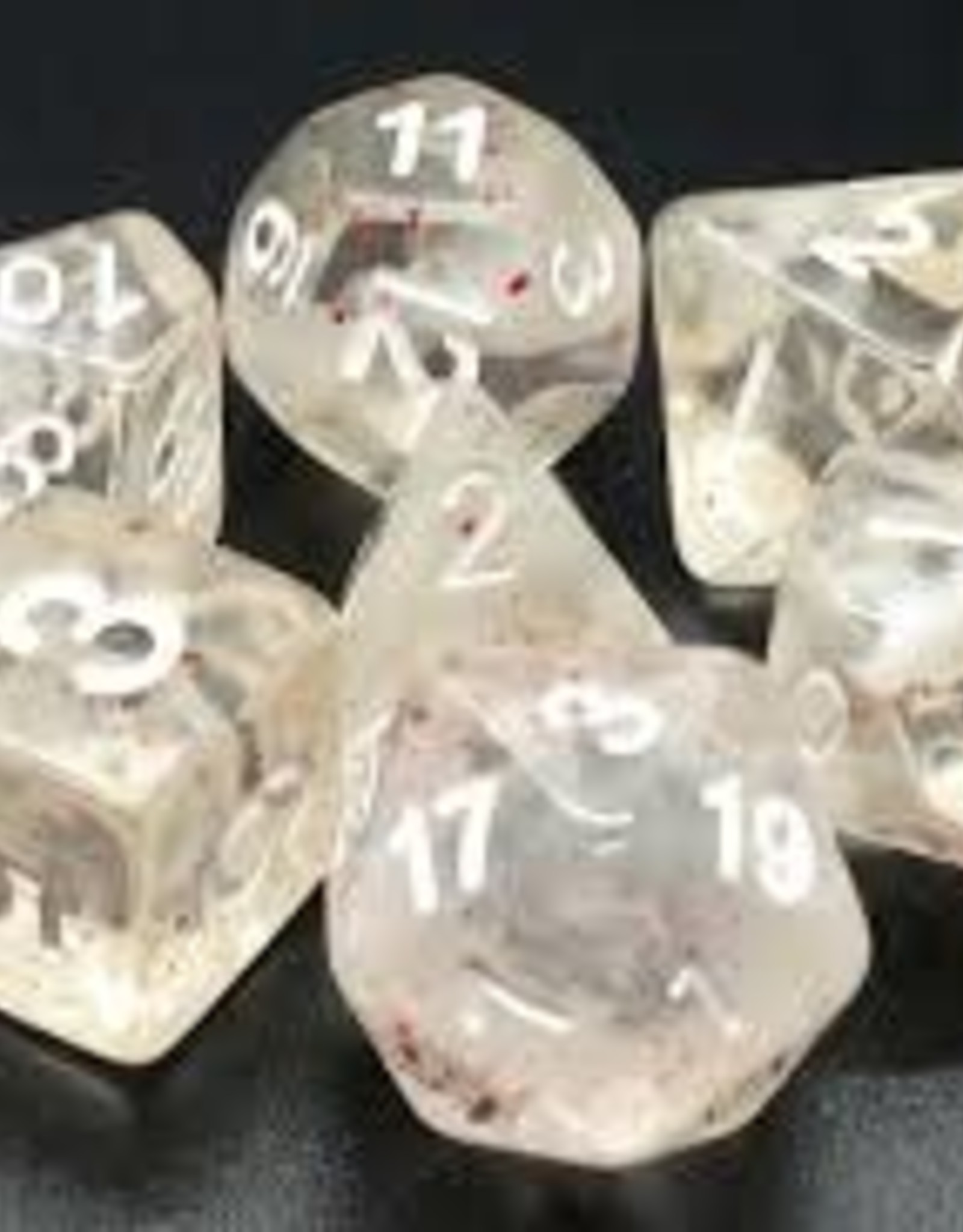Old School Dice & Accesories Particles: Red Ice