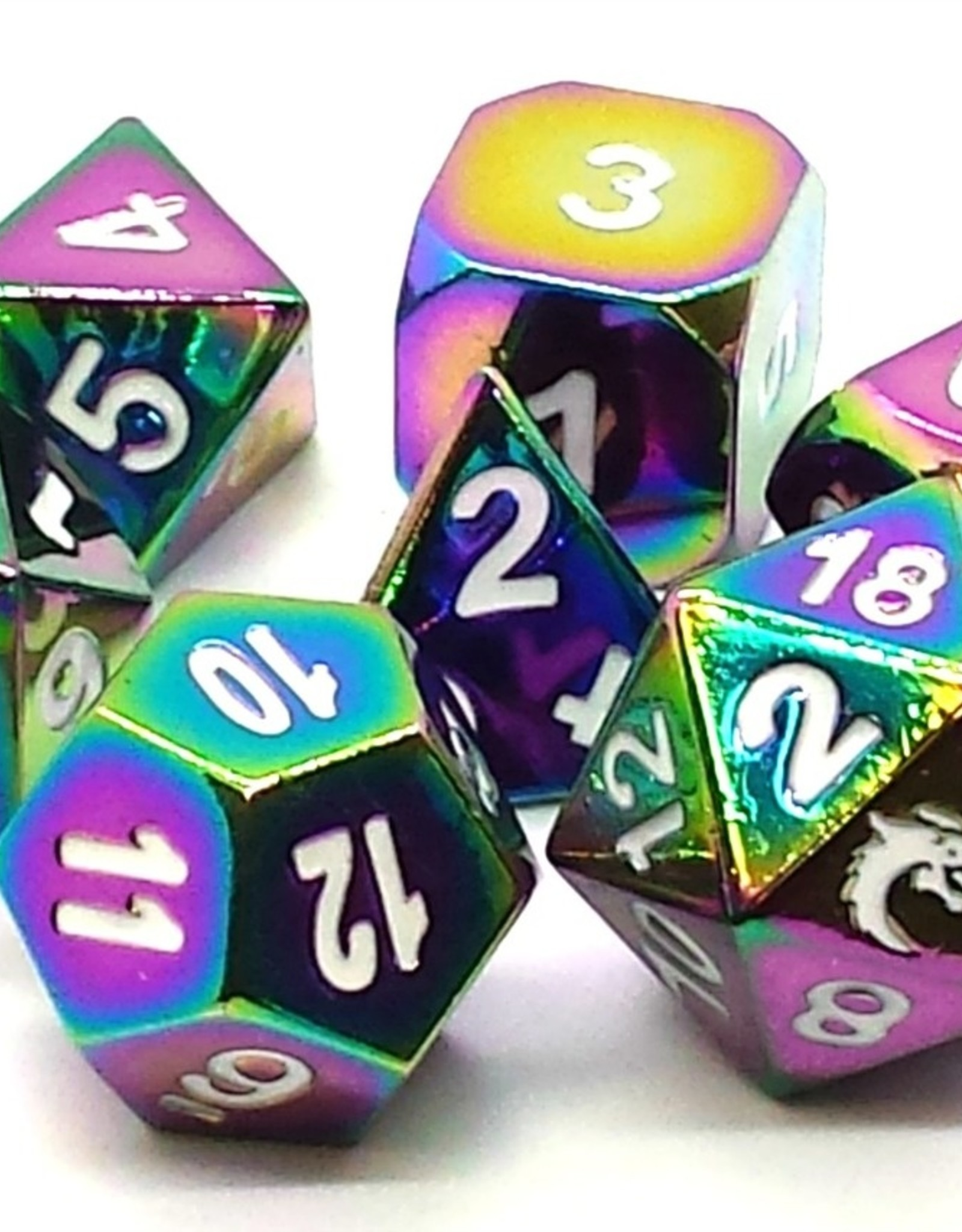 Old School Dice & Accesories Halfling Forged: Brilliant Rainbow