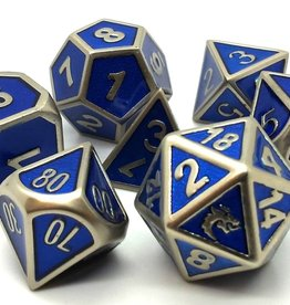 Old School Dice & Accesories Elven Forged: Metallic Blue