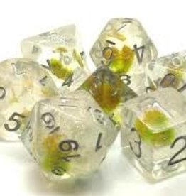 Old School Dice & Accesories Infused: Green Flower