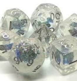 Old School Dice & Accesories Infused: Blue Flower