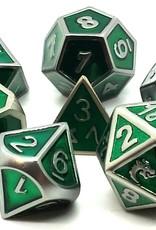 Old School Dice & Accesories Elven Forged: Metallic Green