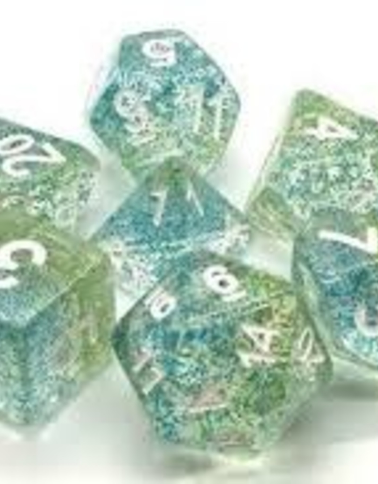 Old School Dice & Accesories Particles: Coral Reef