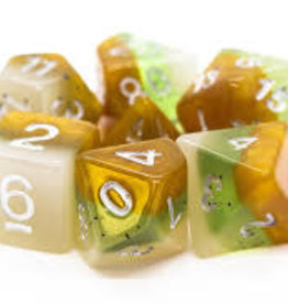 Old School Dice & Accesories Gradients Kiwi Fruit