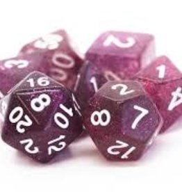 Old School Dice & Accesories Sparkle Translucent Purple