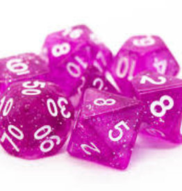Old School Dice & Accesories Sparkle Translucent Magenta