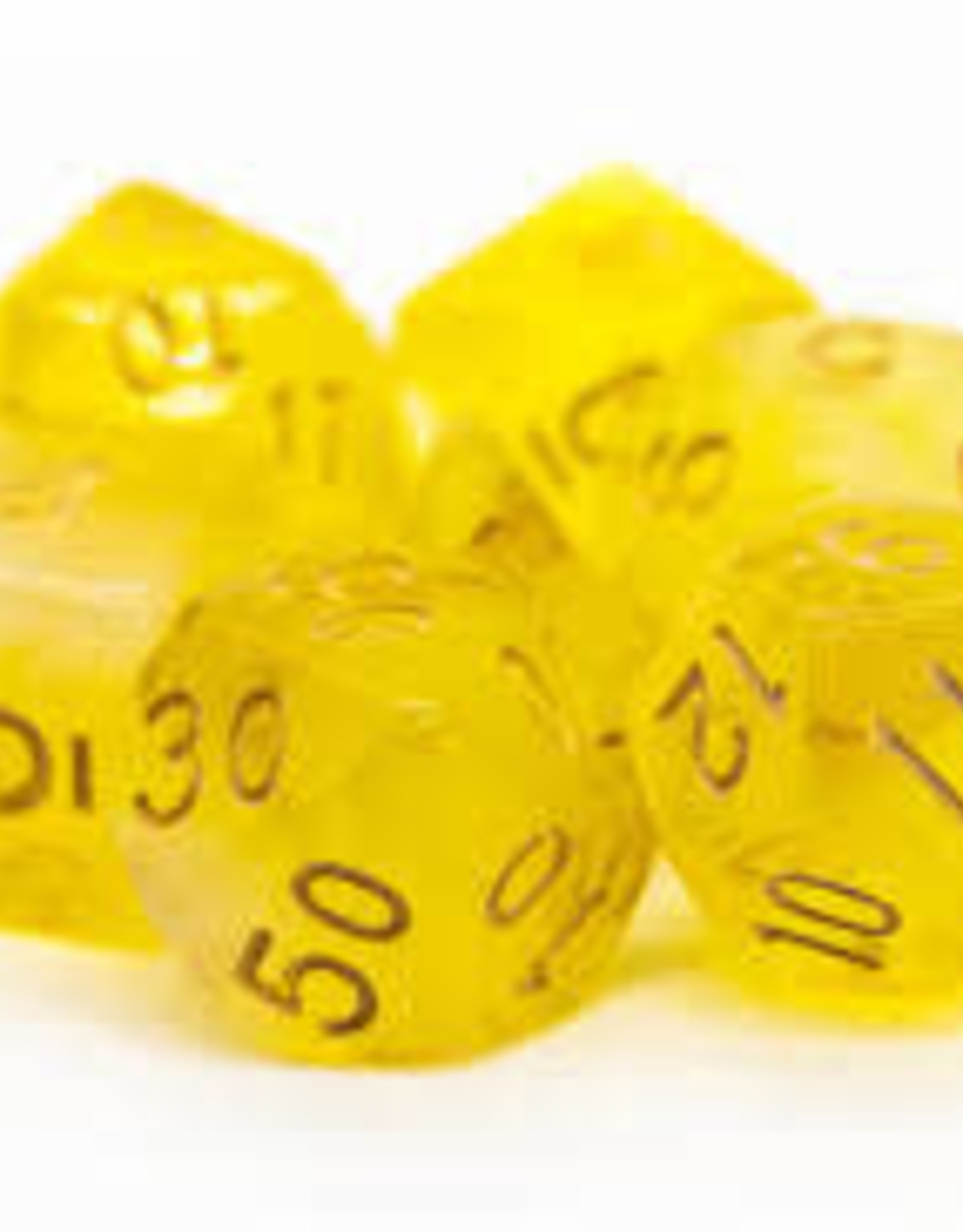 Old School Dice & Accesories Nebula Yellow