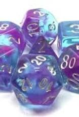 Old School Dice & Accesories Nebula Purple & Blue