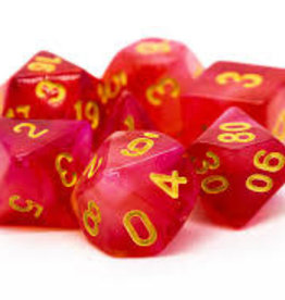 Old School Dice & Accesories Nebula Red