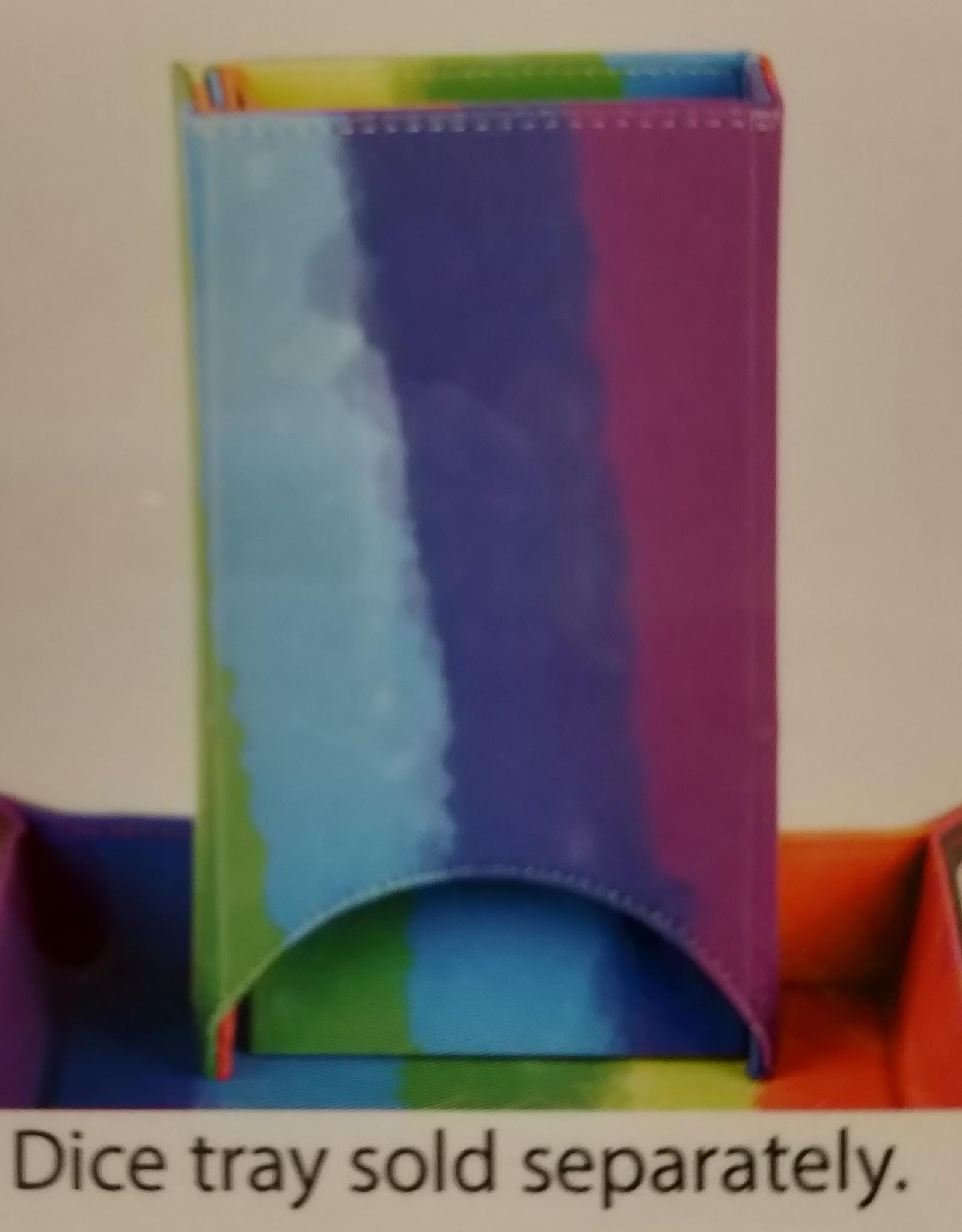 MDG Dice Tower: Watercolor Rainbow