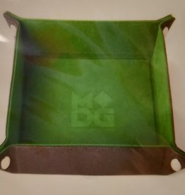 MDG Green Velvet Folding Tray