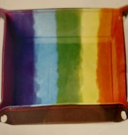 MDG Watercolor Rainbow Velvet Folding Tray