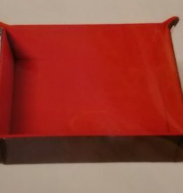 MDG Red Velvet Folding Tray