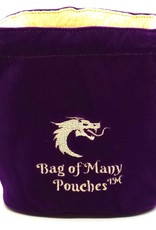 Old School Dice & Accesories Bag of Many Pouches: Purple