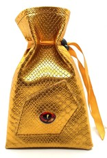 Old School Dice & Accesories Dragon Eye Dice Bag: Gold Dragon