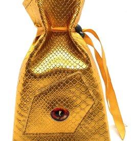 Old School Dice & Accesories Dragon Eye Dice Bag: Gold Dragon