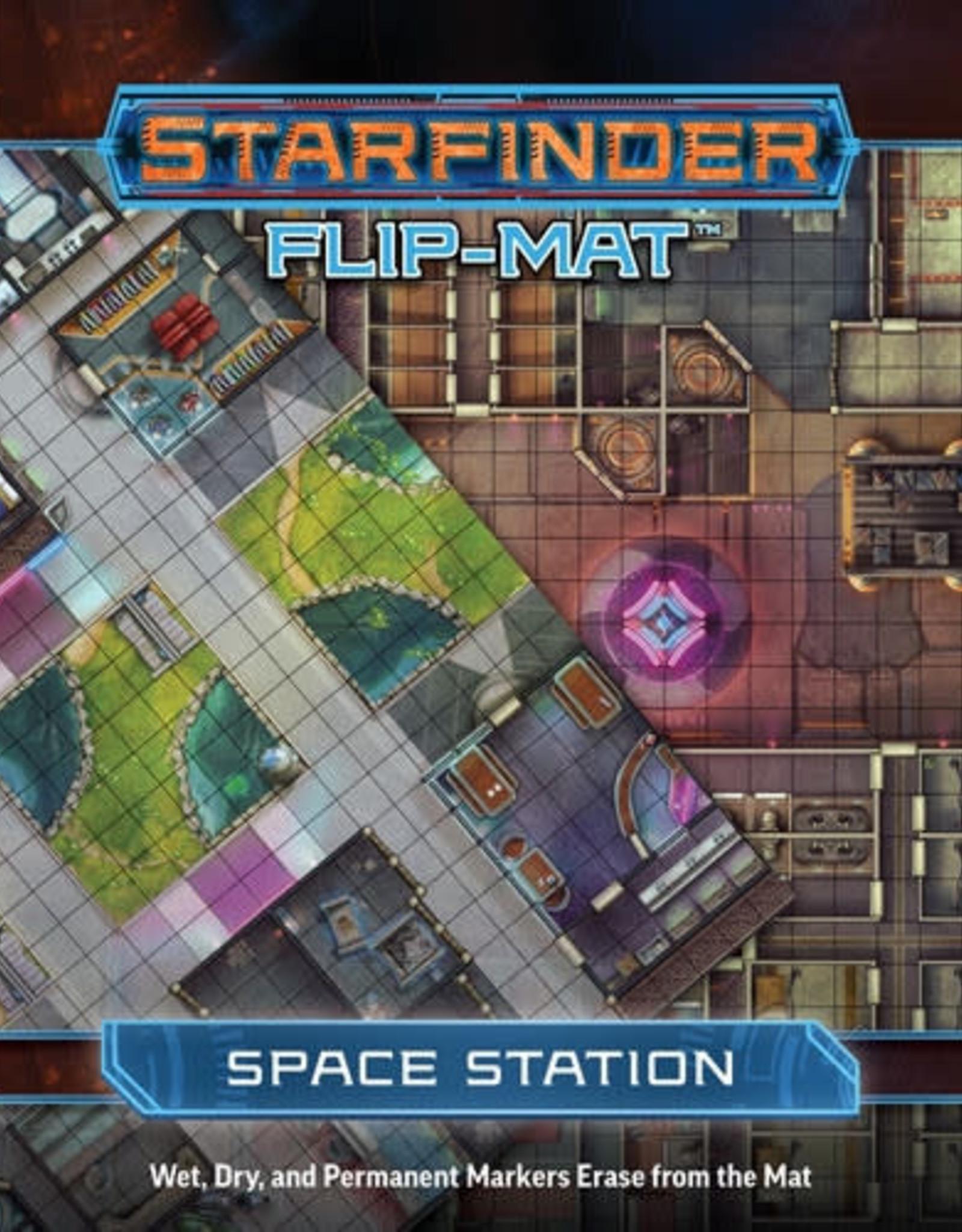 Starfinder RPG: Flip-Mat - Space Station