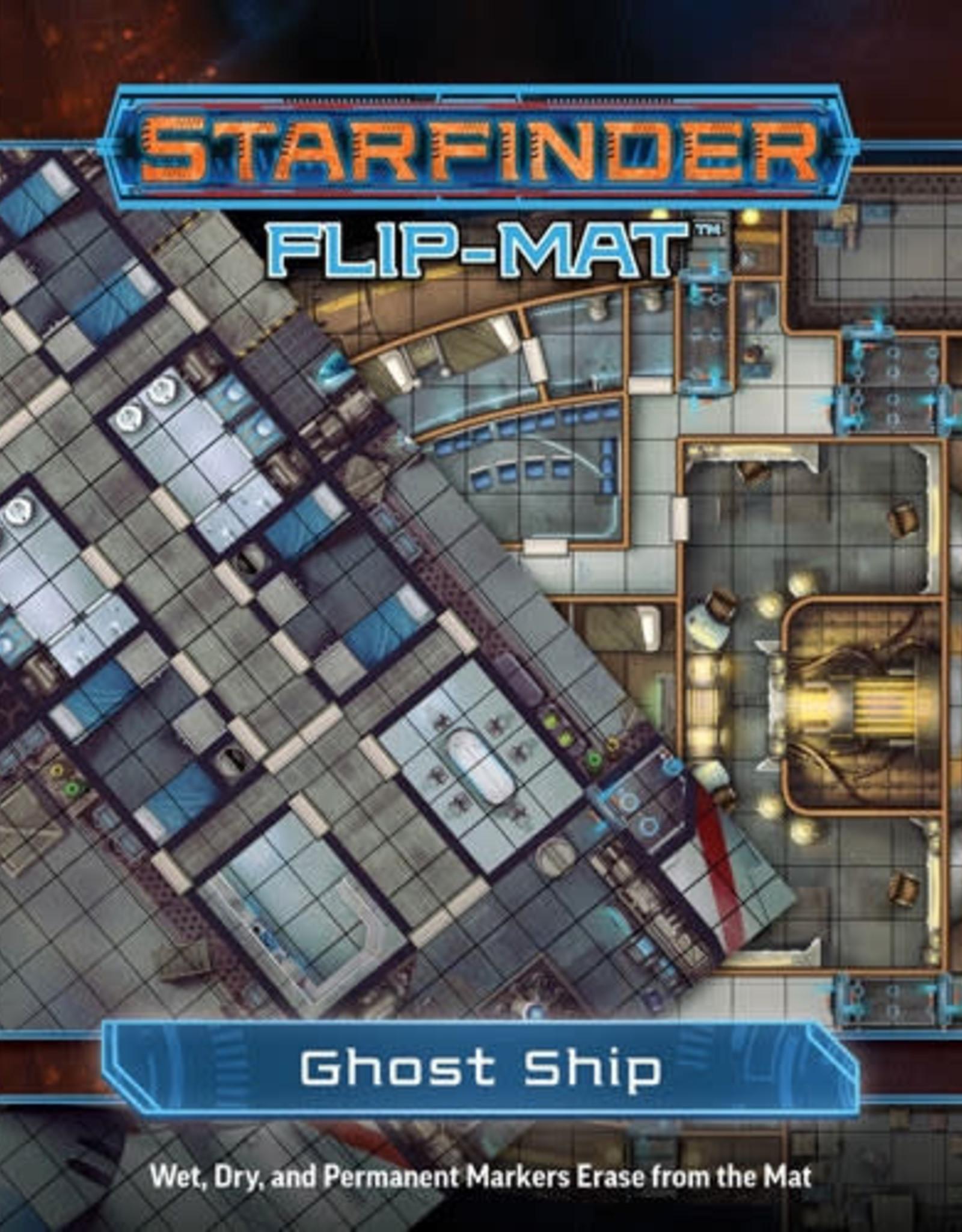 Starfinder RPG: Flip-Mat - Starship - Ghost Ship
