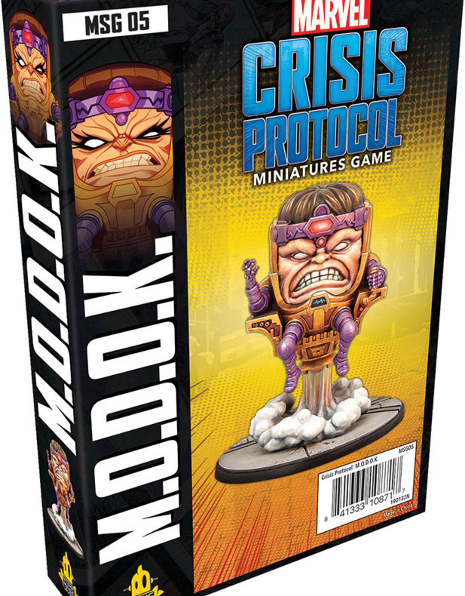 Asmodee Marvel: Crisis Protocol Modok Character Pack