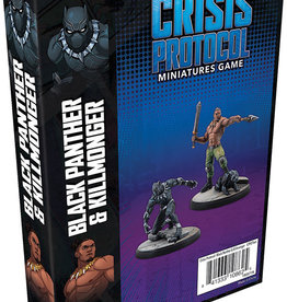 Marvel Crisis Protocol Black Panther and Killmonger