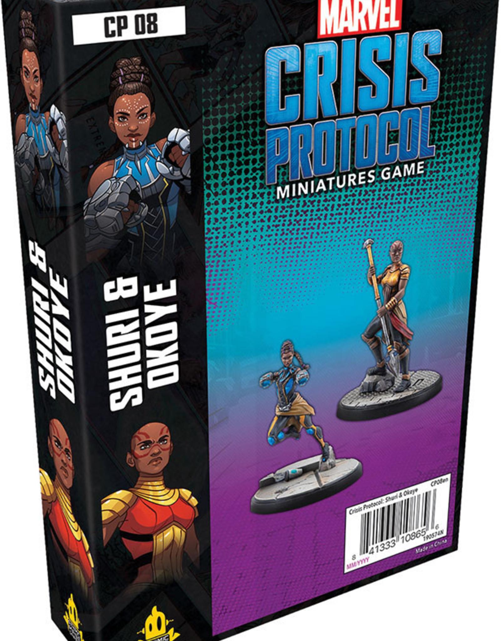Fantasy Flight Games Marvel Crisis Protocol: Shuri and Okoye
