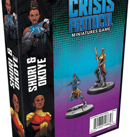 Fantasy Flight Games Marvel Crisis Protocol: Shuri and Okoye