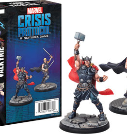 Fantasy Flight Games Marvel Crisis Protocol: Thor and Valkyrie