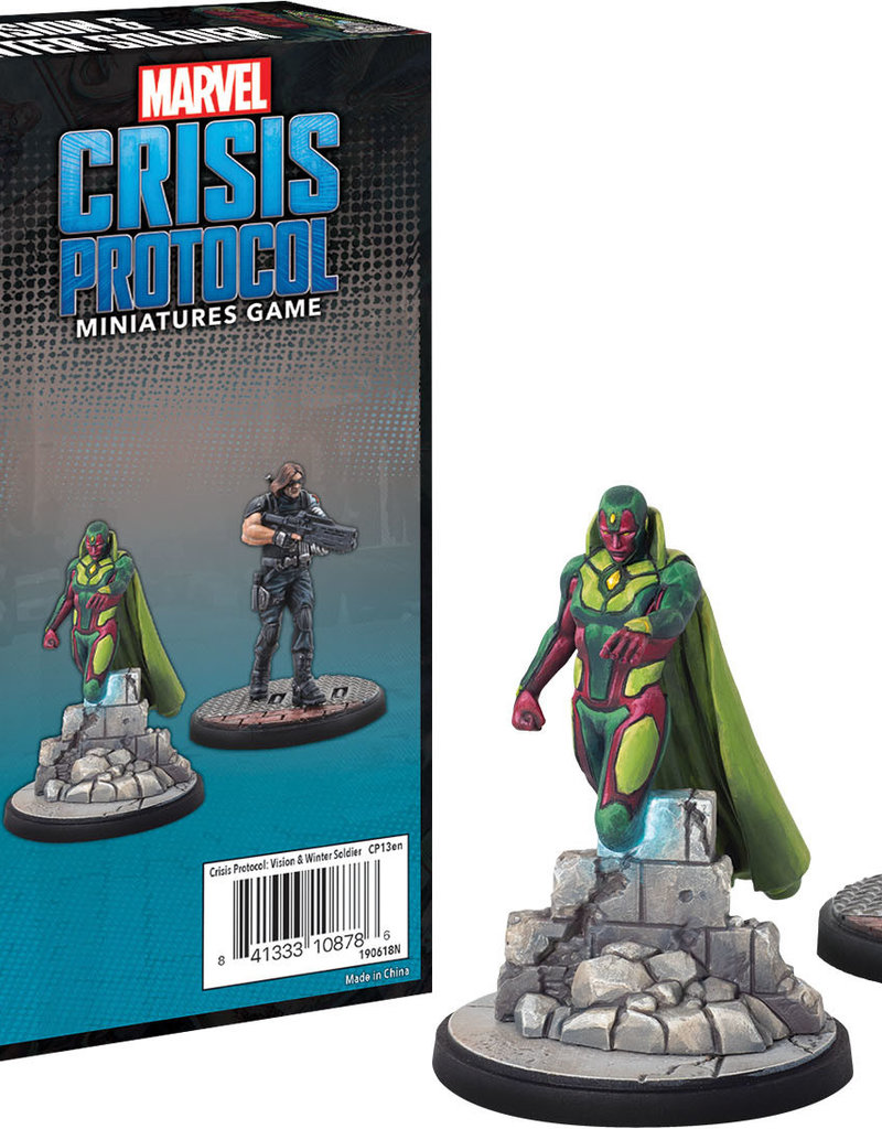 Marvel Crisis Protocol: Vision and Winter