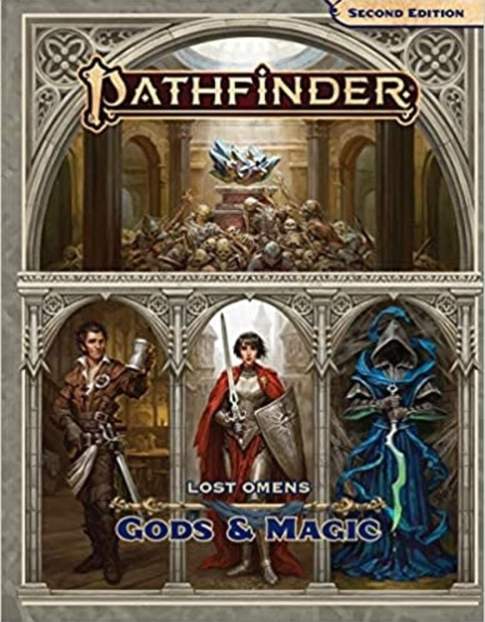 Paizo Pathfinder P2: Lost Omens Gods and Magic