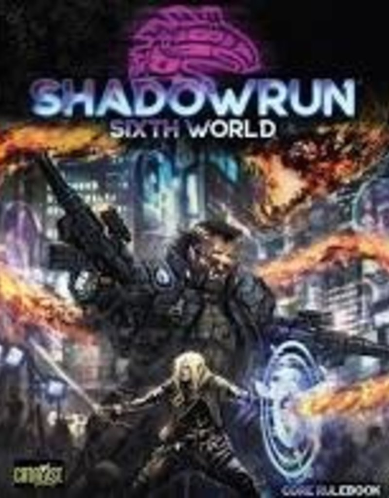 Catalyst Shadowrun 6th Edition Core Book