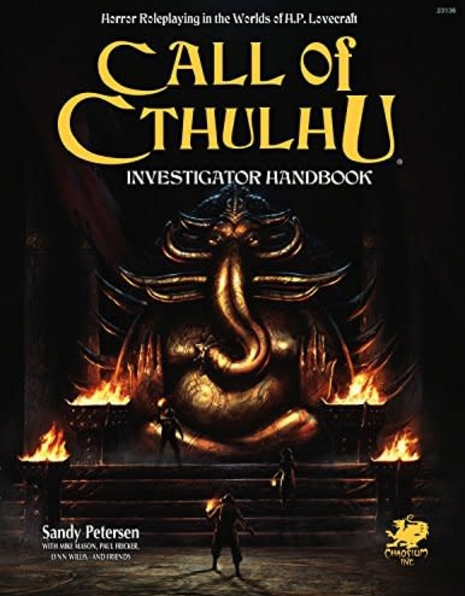 Chaosium Call of Cthulhu: 7th Edition Investigator Handbook