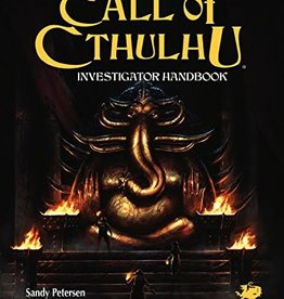 Chaosium Call of Cthulhu: 7th Edition Investigator Handbook