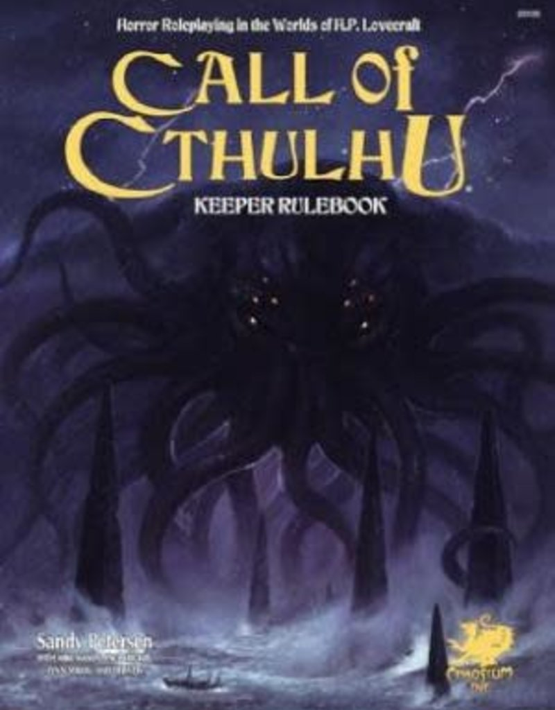 Chaosium Call of Cthulhu 7th Edition Hardcover