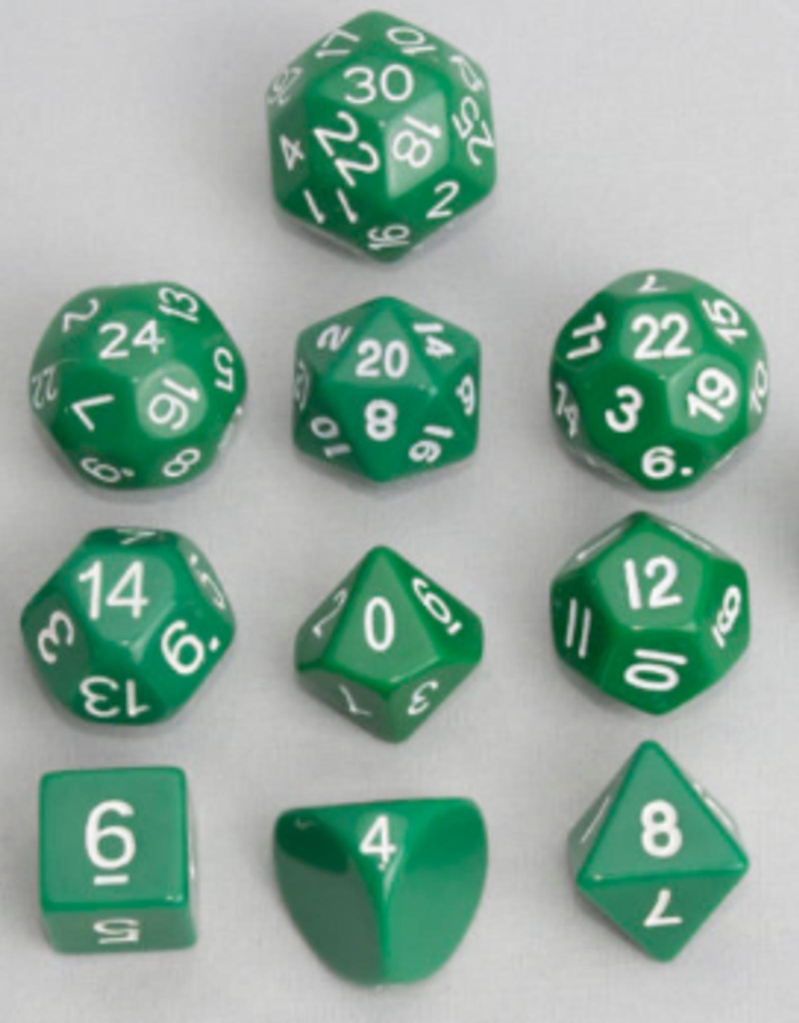 Dice, Green (12 pc)