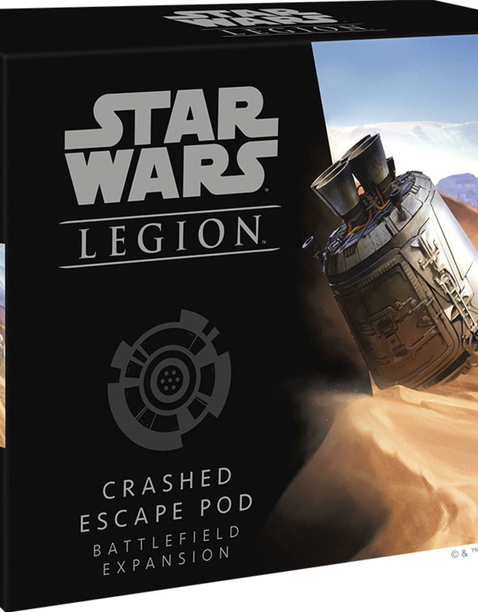 Fantasy Flight Games Crashed Escape Pod