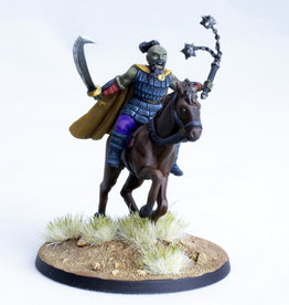 Kor-Khan, Mounted