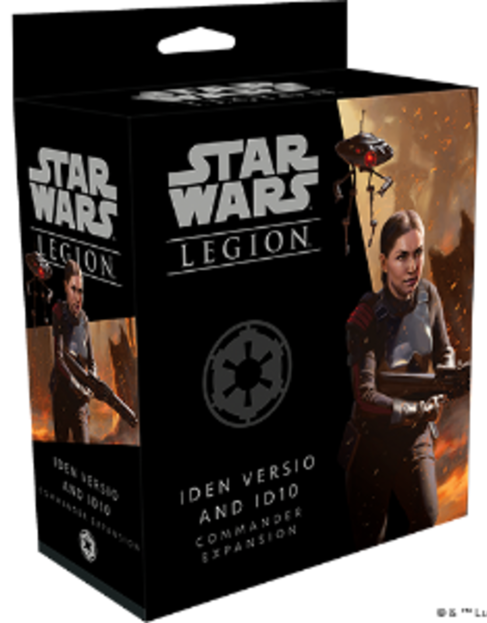 Iden Veriso and ID10 Commander Expansion