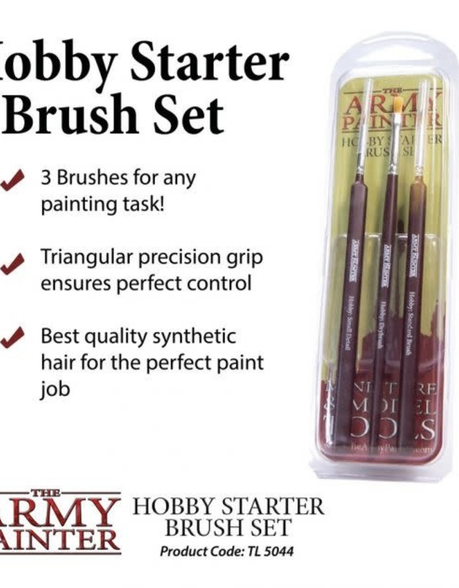 The Army Painter Hobby Starter Brush Set