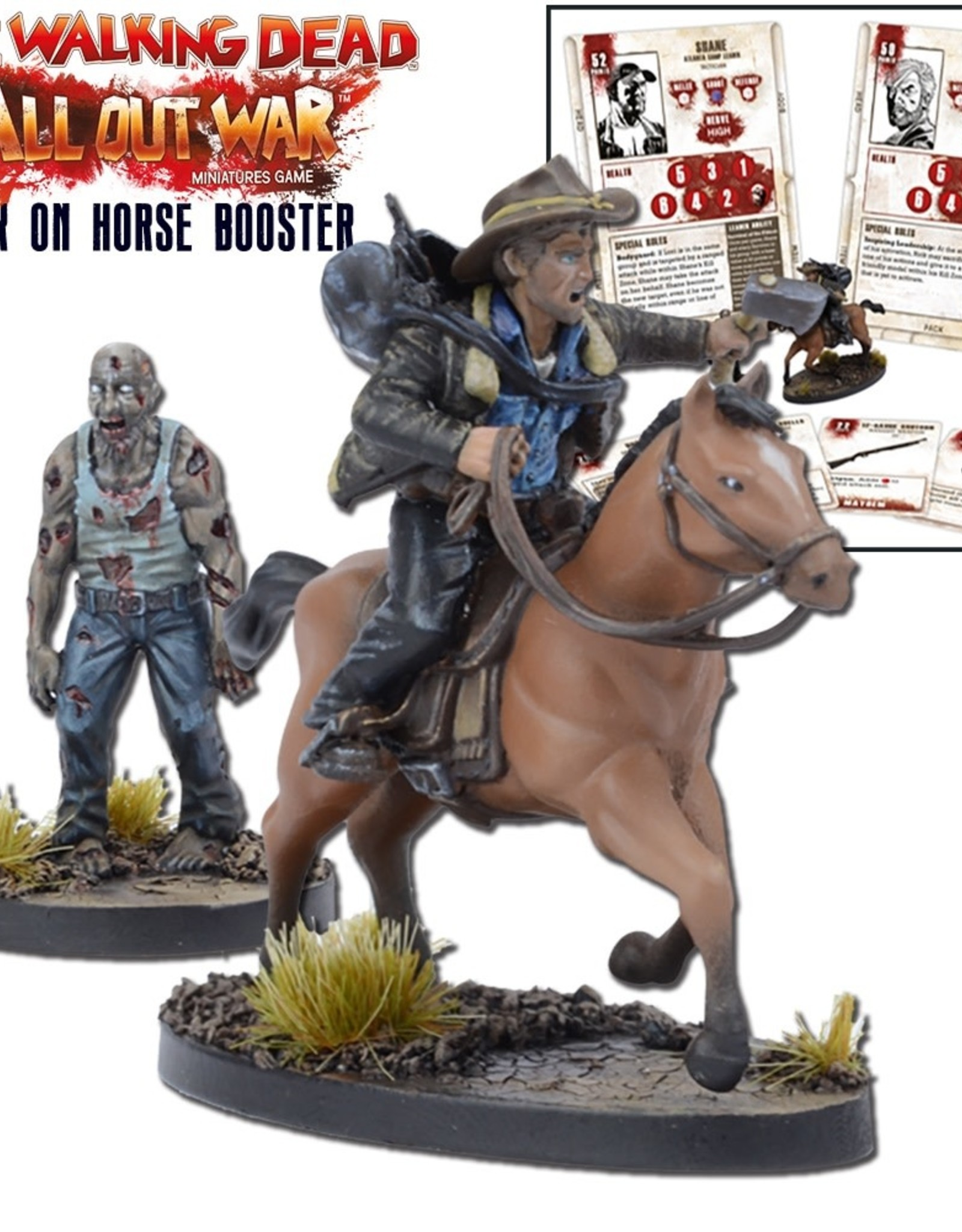 Mantic All Out War: Rick On Horse