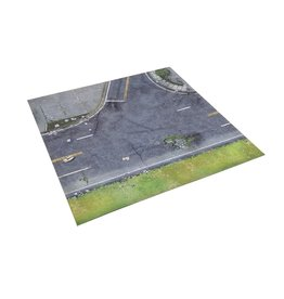 Mantic All Out War: Street Playmat