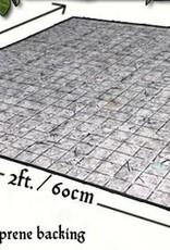 Flagstone Floor Gaming Mat 2x2