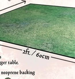 Grassy Fields Gaming Mat 2x2 v1