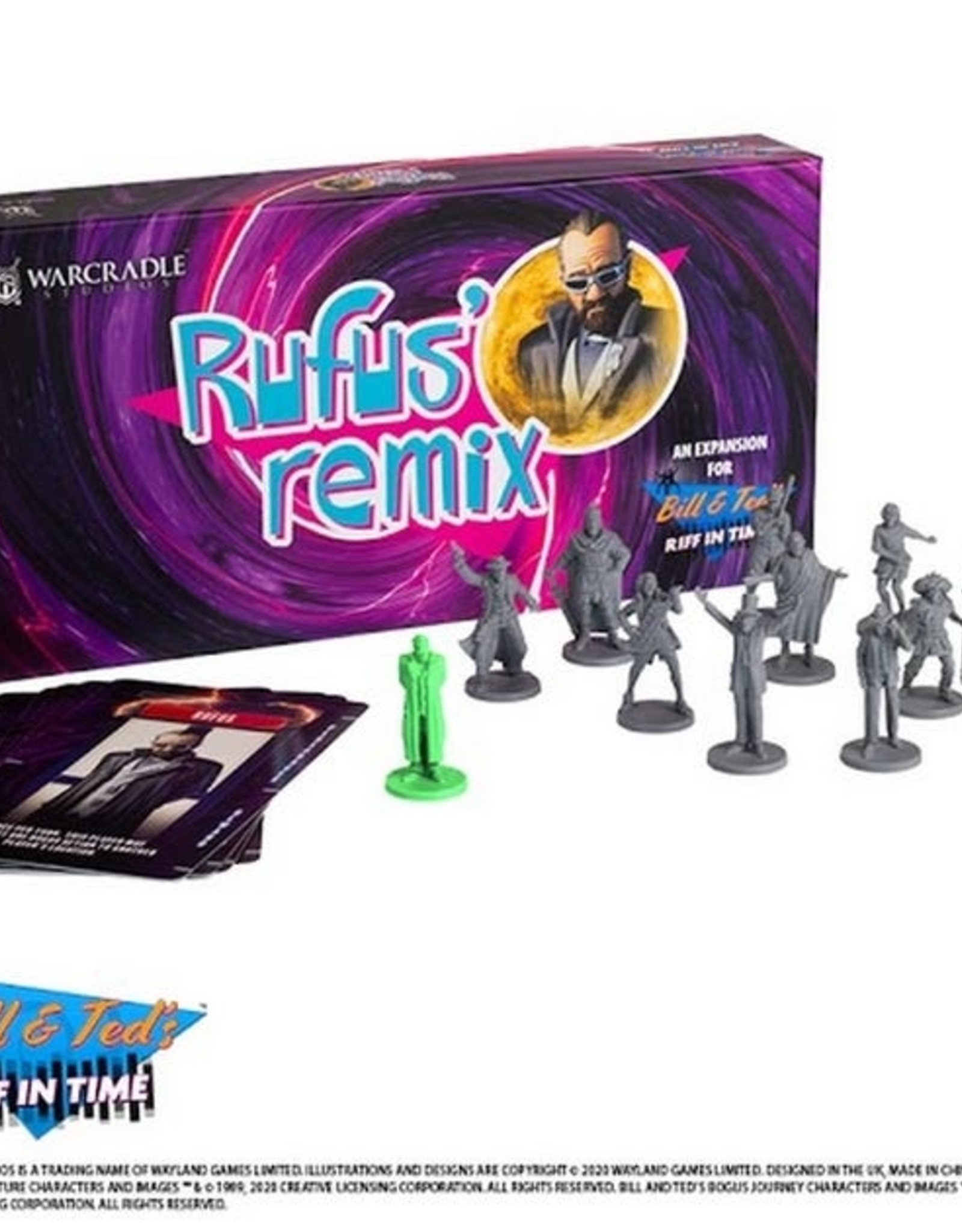 Rufus' Remis: Bill & Ted's Riff in Time Expansion