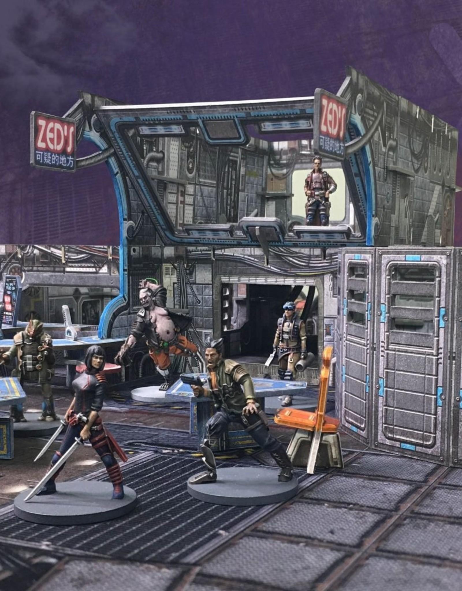 Battle Systems Core Space Shootout at Zed's Expansion