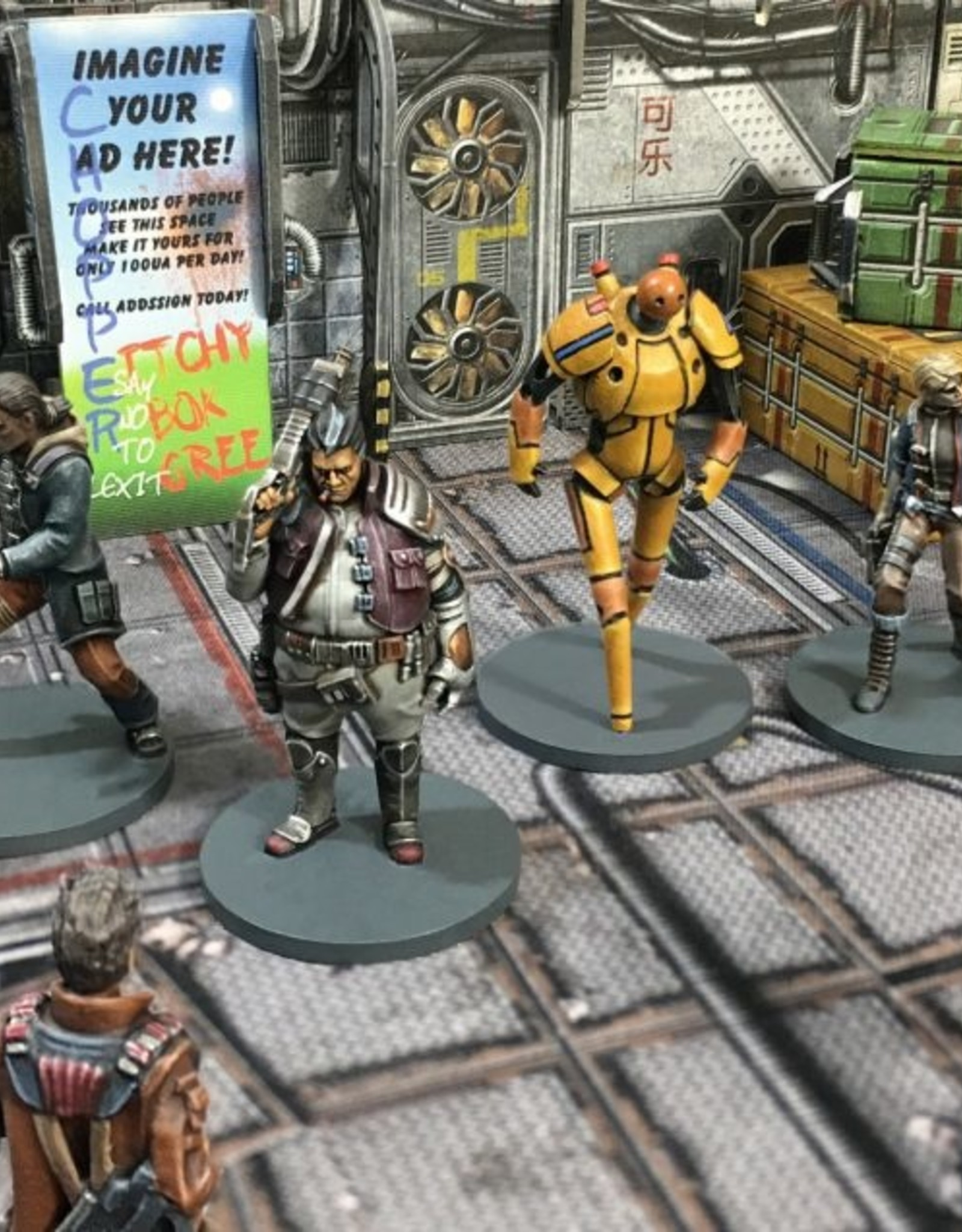 Battle Systems Core Space Skylark Crew