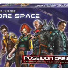 Battle Systems Core Space Poseidon Crew