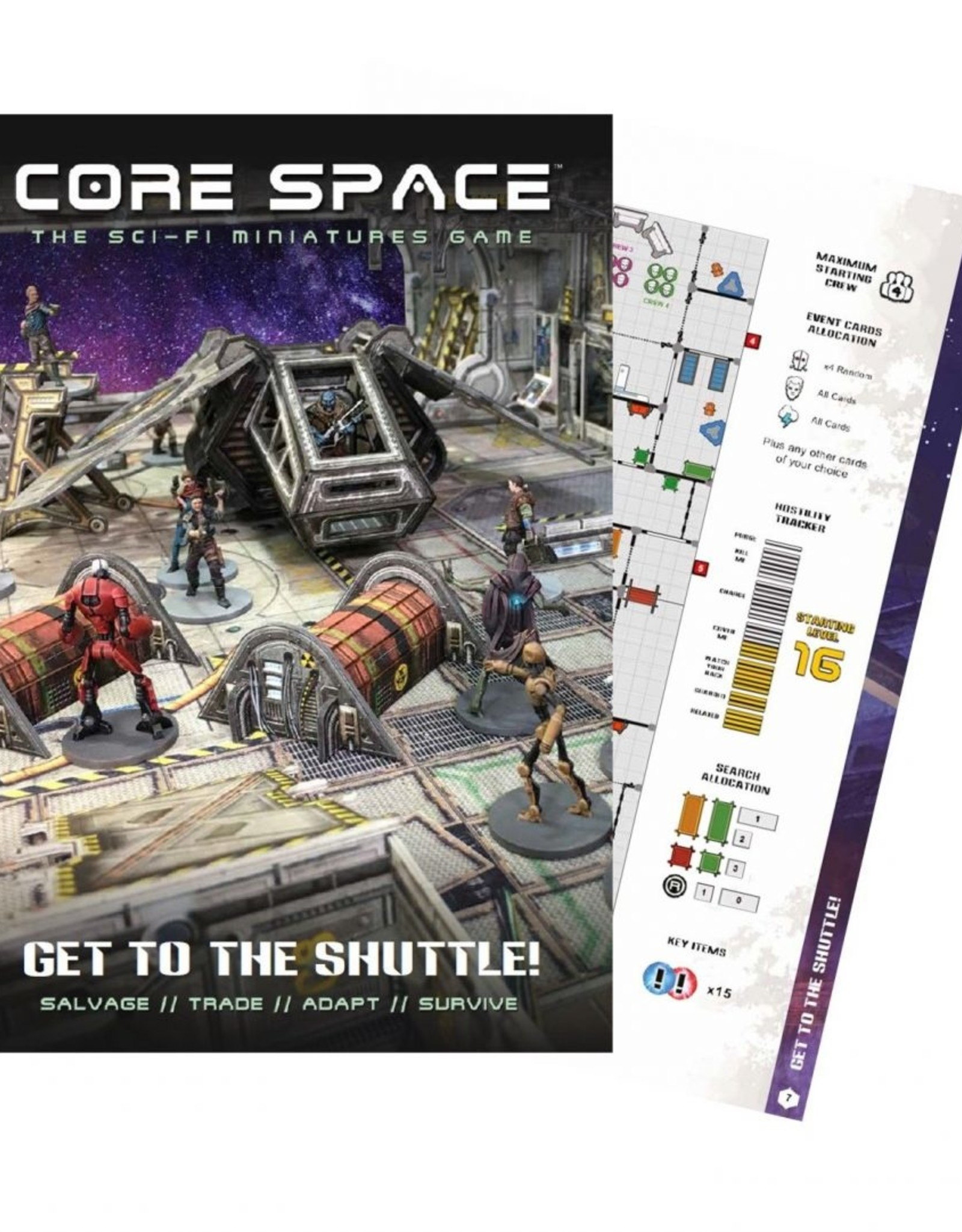 Battle Systems Core Space Get to the Shuttle Expansion